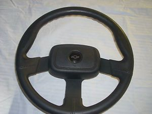 Chevy Steering Wheel Corvette Camaro Chevelle Buick Pontiac Olds Black 3 Spoke