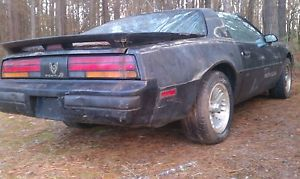 1989 Pontiac Firebird Formula V8 Parts Car WS6