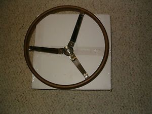 Brand New Reproduction Wood Steering Wheel for 1965 1966 Pontiac GTO