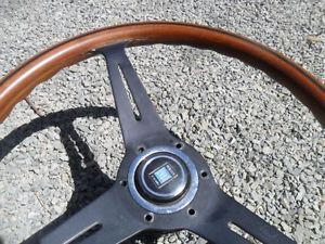 Mercedes Benz Nardi Wood Steering Wheel Jaguar Porshe Saab Triumph MG MGB Datsun