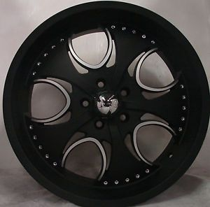 "4 20"" KMC Wheels Rims 5 Lug BMW 5 6 7 Series 640 645 650 740 750 760 KM755"