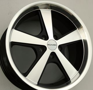 Details about KMC NOVA 18 x 9.0 BLACK RIMS WHEELS OPTIMA SORRENTO 5H