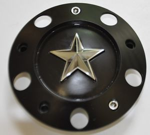 KMC XD 775 Rockstar Wheel 371L152 Black Center Cap FD 09 026