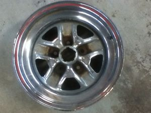 Hurst Olds 15x7 Original Chrome Rim Wheel 1983 1984 Rough Bent Lip