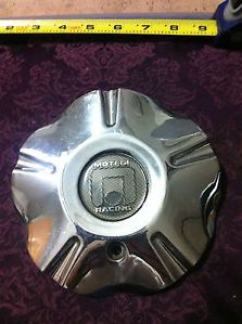 1 Motegi Racing Wheels Chrome Metal Center Cap Part BC 312 Stock 95