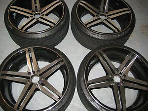20 inch Black Rims Tires