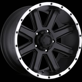 17x9 Black Ultra Crusher 195 Wheels 5x4 5 12 Lifted Jeep Wrangler Rubicon