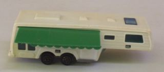 5th Fifth Wheel Trailer camper Majorette Vtg 1 60 313