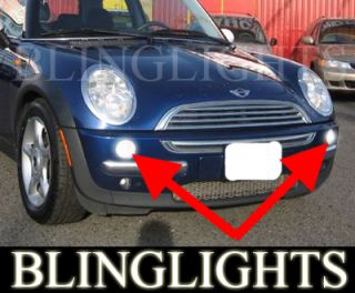 2005 2006 BMW Mini Cooper Convertible Fog Lights Lamps
