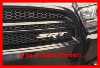 "New SRT8 Dodge Charger Challenger ""SRT"" Grille Emblem Nameplate Mopar"