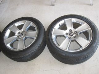 "Ford ""Mustang"" 03 09' O E M Set of 4 5 Spoke 18 x 8 5 Alloy Wheels w Tires"