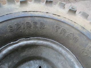 Dick Cepek Spider Trac Tires & Wheels 25x13.5x10 ATV 4 Wheeler Yamaha