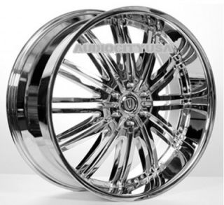 "22"" D1 VT CH Wheels and Tires Rims for Chevy Cadillac Ford RAM Toyota"