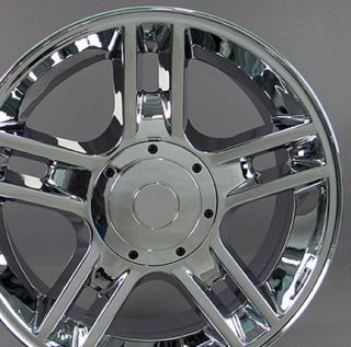 "20"" Chrome F 150 Harley Wheels Set 4 Rims Fit Ford Expedition Lincoln Navigator"