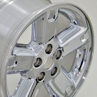 "17"" Rims Dodge Nitro Chrome Wheel 5254 17 x 7"