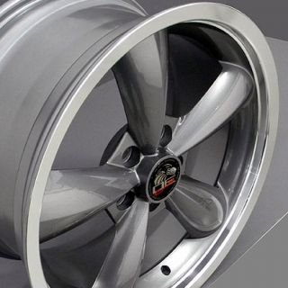 "20"" Bullet Rims Fit Mustang® GT Bullitt Deep Dish Wheels 05 Set"