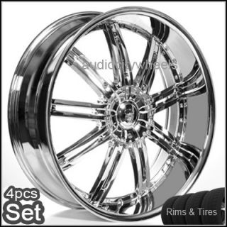 "22"" inch Wheels and Tires for Land Range Rover FX35 Rims"