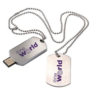 Dog Tag USB 20 Flash Drive 1GB