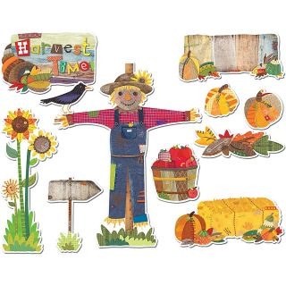 Creative Teaching Press Autumn Harvest Bulletin Board Set