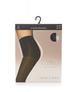 Black 40 Denier Body Control Tights