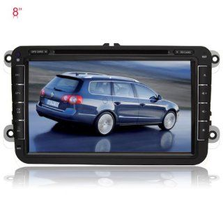 Rupse 8 Inch DVD GPS player for VW series New BOR / Passat B6/B7 / Golf 5(2003 2012) / Golf PLUS 2003 2012/ Golf GTI / Golf R32/ Tiguan (2007  2009)/ Jetta A5 (2005 2012) / Touran / Passat CC (2008 2012) / Passat B6 (2006 2012)/ Eos /Caddy / Rabbit (2006