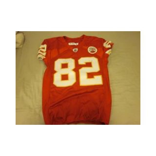 2010 Kansas City Chiefs Game Used Jersey Dwayne Bowe   NFL Jerseys