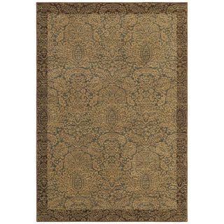 Tommy Bahama Home Rugs Ocean Seaspray Damask Transitional Rug (5'5 x 7?9) Tommy Bahama 5x8   6x9 Rugs