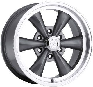 Vision Legend 6 22 Gunmetal Wheel / Rim 6x5.5 with a 15mm Offset and a 106.2 Hub Bore. Partnumber 142 22983GM15 Automotive