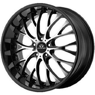 Lorenzo WL027 20x8.5 Black Wheel / Rim 5x120 with a 35mm Offset and a 74.10 Hub Bore. Partnumber WL02728552335 Automotive