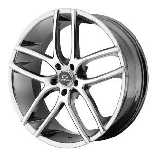 Lorenzo WL035 18x8 Chrome Wheel / Rim 5x112 with a 38mm Offset and a 66.56 Hub Bore. Partnumber WL03588057838 Automotive