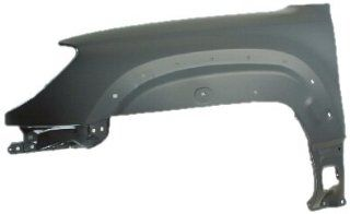 OE Replacement Toyota 4 Runner Front Passenger Side Fender Assembly (Partslink Number TO1241197) Automotive