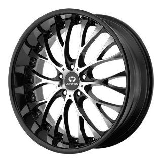 Lorenzo WL027 20x10 Black Wheel / Rim 5x120 with a 40mm Offset and a 74.10 Hub Bore. Partnumber WL02721052340A Automotive