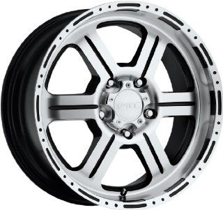 V Tec Off Road 18 Machined Black Wheel / Rim 6x5.5 with a 18mm Offset and a 106.2 Hub Bore. Partnumber 326 8983GBMF18 Automotive
