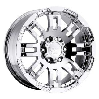 Vision Warrior 18 Chrome Wheel / Rim 5x5.5 with a 18mm Offset and a 108 Hub Bore. Partnumber 375H8885PC18 Automotive