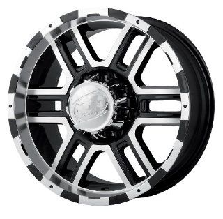 Alloy Ion Style 179 16 Black Wheel / Rim 5x5 with a 10mm Offset and a 83.82 Hub Bore. Partnumber 179 6873B Automotive