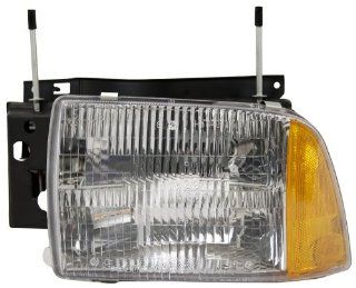 OE Replacement Chevrolet S10 Blazer Driver Side Headlight Assembly Composite (Partslink Number GM2502156) Automotive