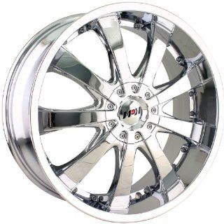 MPW MP110 18 Chrome Wheel / Rim 5x100 & 5x115 with a 40mm Offset and a 72.62 Hub Bore. Partnumber MP110 8713C Automotive