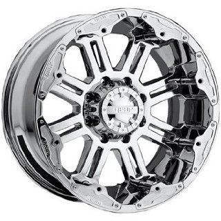 Gear Alloy Full Throttle 22x10 Chrome Wheel / Rim 8x6.5 with a  25mm Offset and a 130.18 Hub Bore. Partnumber 722C 2218125 Automotive