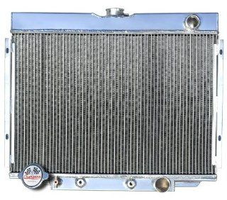 3 Row All Aluminum Replacement Radiator for the 1967 70 Ford Mustang, 1969 Ford Fairlane, 1969 Ford Ranchero, 1967 70 Mercury Cougar XR7   Manufactured by Champion Cooling Systems, Part Number 338 Automotive