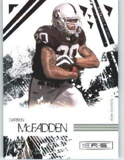 Darren McFadden   Oakland Raiders   2009 Donruss Rookies and Stars NFL Football Trading Card in Protective Screwdown Case Sports Collectibles