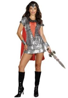 Dreamgirl Women's Shimmering Knight Costume Clothing