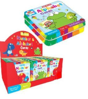 Go Create Kids Number Card Game In Storage Tin   Introduction To Numbers Toys & Games