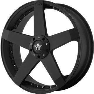 KMC KM775 17x7.5 Black Wheel / Rim 4x100 & 4x4.5 with a 42mm Offset and a 72.60 Hub Bore. Partnumber KM77577598742 Automotive