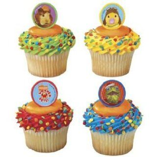 WONDER PETS CupCake Rings Decoration Party CAKE x12 Tuck Ming Birthday Duck Zoo