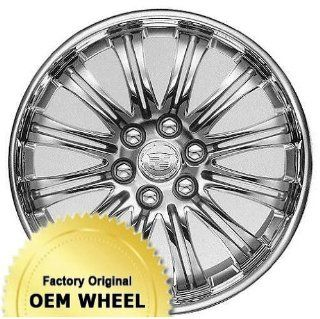 CHEVROLET,GMC,CADILLAC AVALANCHE,ESCALADE,SIERRA,SILVERADO,SUBURBAN,TAHOE,YUKON,1500 SERIES 22x9 12 DOUBLE SPOKE Factory Oem Wheel Rim  CHROME LIP BLACK   Remanufactured Automotive