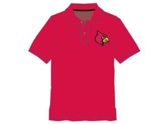 NCAA Louisville Cardinals Boy's Performance Polo Shirt, Red  Sports & Outdoors