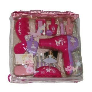 Barbie Pretend Play 16 Piece Hair Care Set Battery Blow Dryer Comb Accessories Toys & Games
