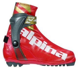 Alpina Junior ERJ Race Series Cross Country Nordic Race Boots  Nordic Ski Boots  Sports & Outdoors
