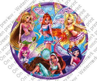 Winx Fairy Friends Edible Cupcake Toppers Decoration  Other Products