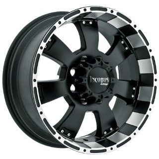 Incubus Krawler 18x9 Black Wheel / Rim 6x135 with a  12mm Offset and a 87.00 Hub Bore. Partnumber 815890653 12FBLM Automotive